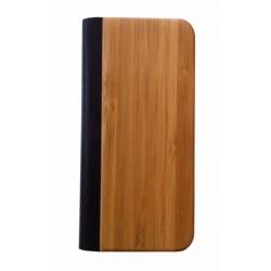 iPhone 4/4S Leder Bamboe...